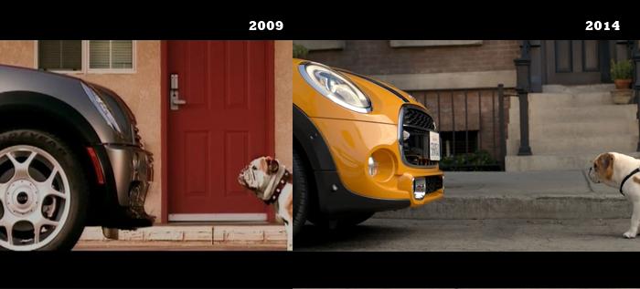 Publicidad y perros: Mini Cooper 2014